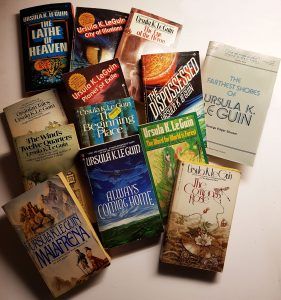 Click to see larger image of these other Leguin books I also have.